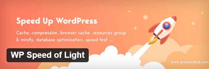 WP-Speed-Of-Light-WordPress-plugin